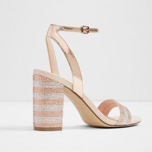 Aldo block heeled sandals